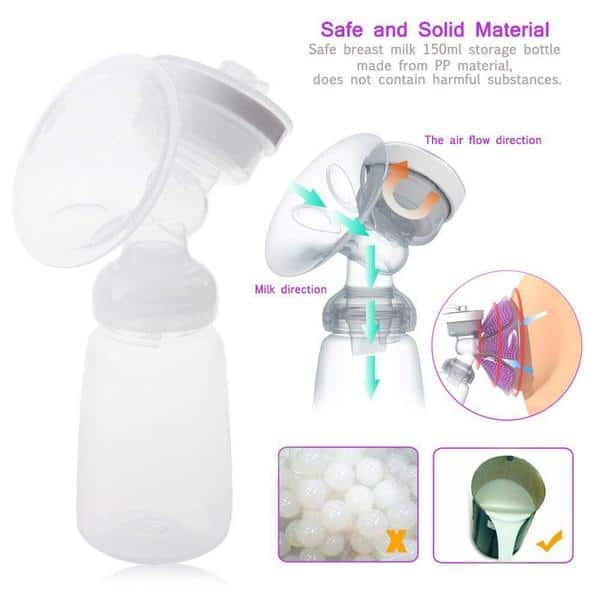 KidsTime Electric Breast Pump features