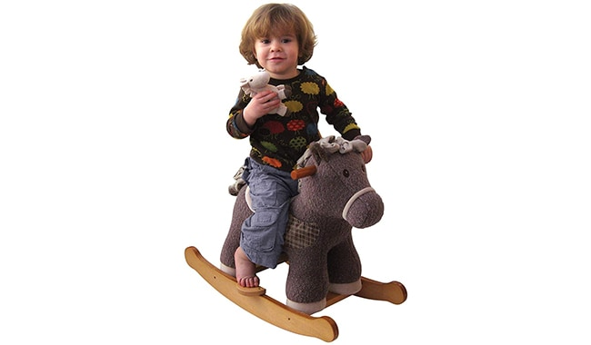Little Bird Told Me Bobble & Pip Infant Rocker Ride On