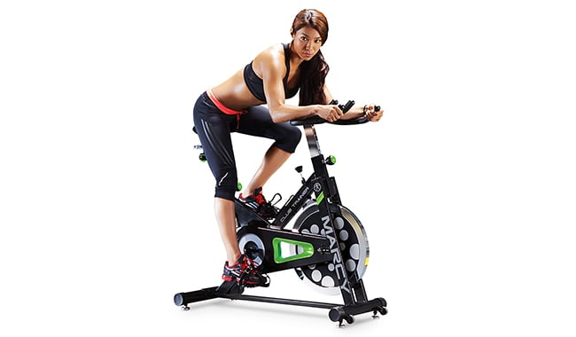 Marcy Club Revolution Bike for Cardio Exercise