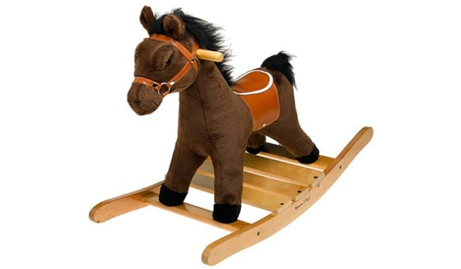 Melissa & Doug Plush Rocking Horse